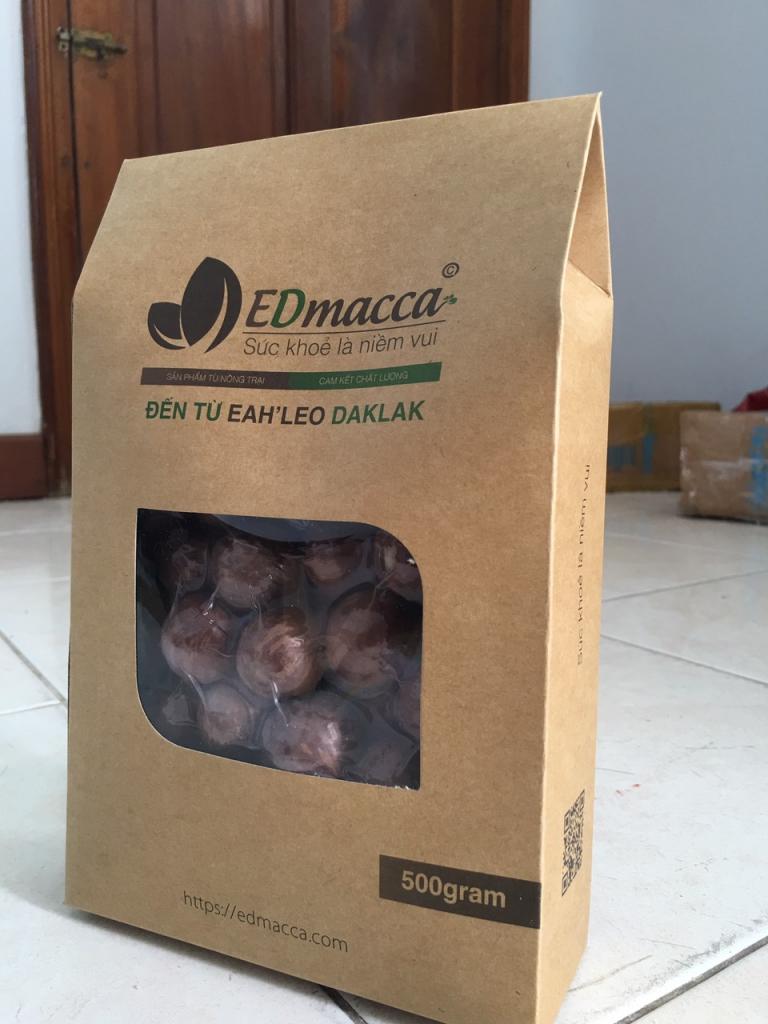 Hạt Macca tại Cơ Sỡ EDMacca nguyên chất