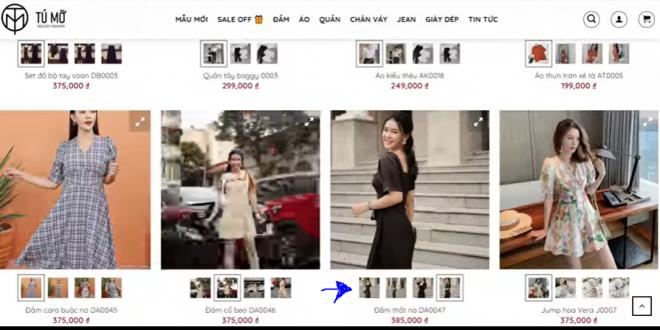 Cách hiển thị gallery của sản phẩm ra product boxt