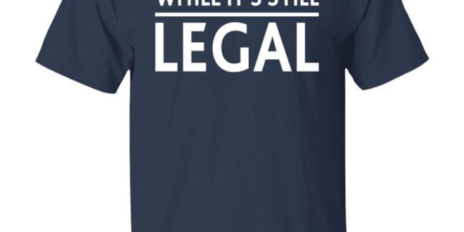 Think While It's Still Legal Rihanna Navy Shirt