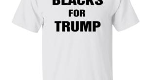 Anti Biden Blacks For Trump Shirt